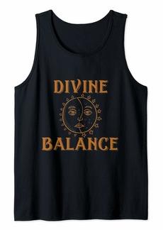 Alchemist Sun and Moon Ancient Alchemy Symbols  Tank Top
