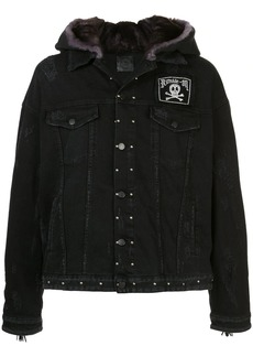 Alchemist tassel fringed denim jacket