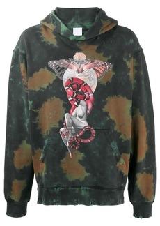 Alchemist tie-dye butterfly hoodie