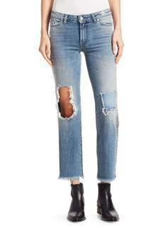 Alchemist Veronica Chain Cropped Jeans