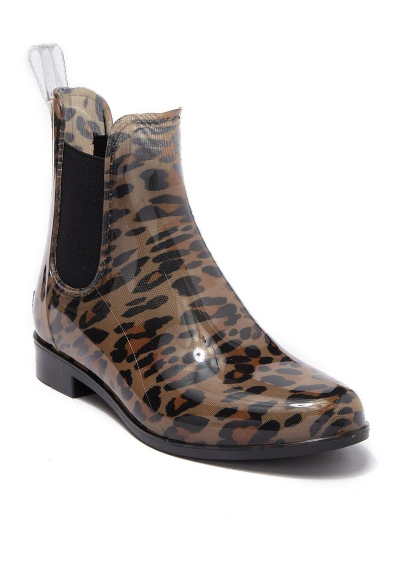 Aldo Acimovic Waterproof Leopard Print Rain Boot