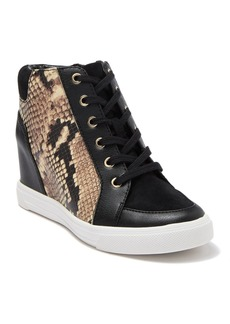 Aldo Aderadda Leather Wedge Sneaker