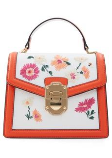 ALDO Adryniel Woven Floral Handbag