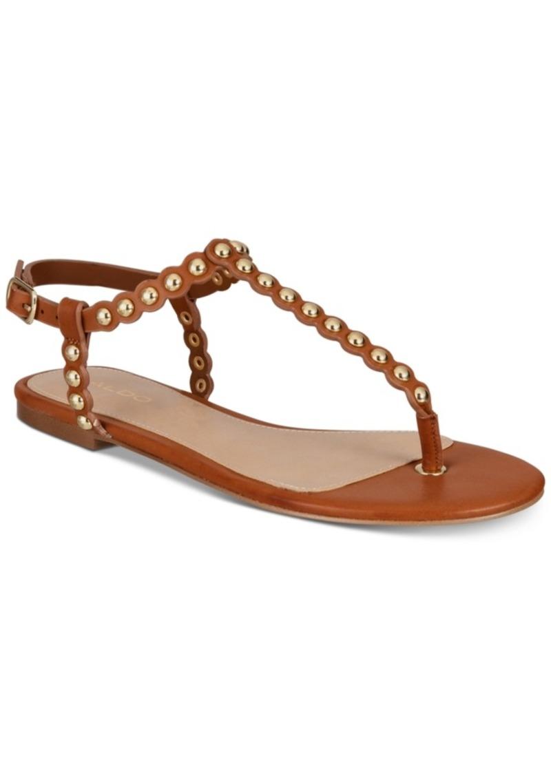 99cfdc271 Aldo Aldo Balata Studded Thong Flat Sandals Women s Shoes
