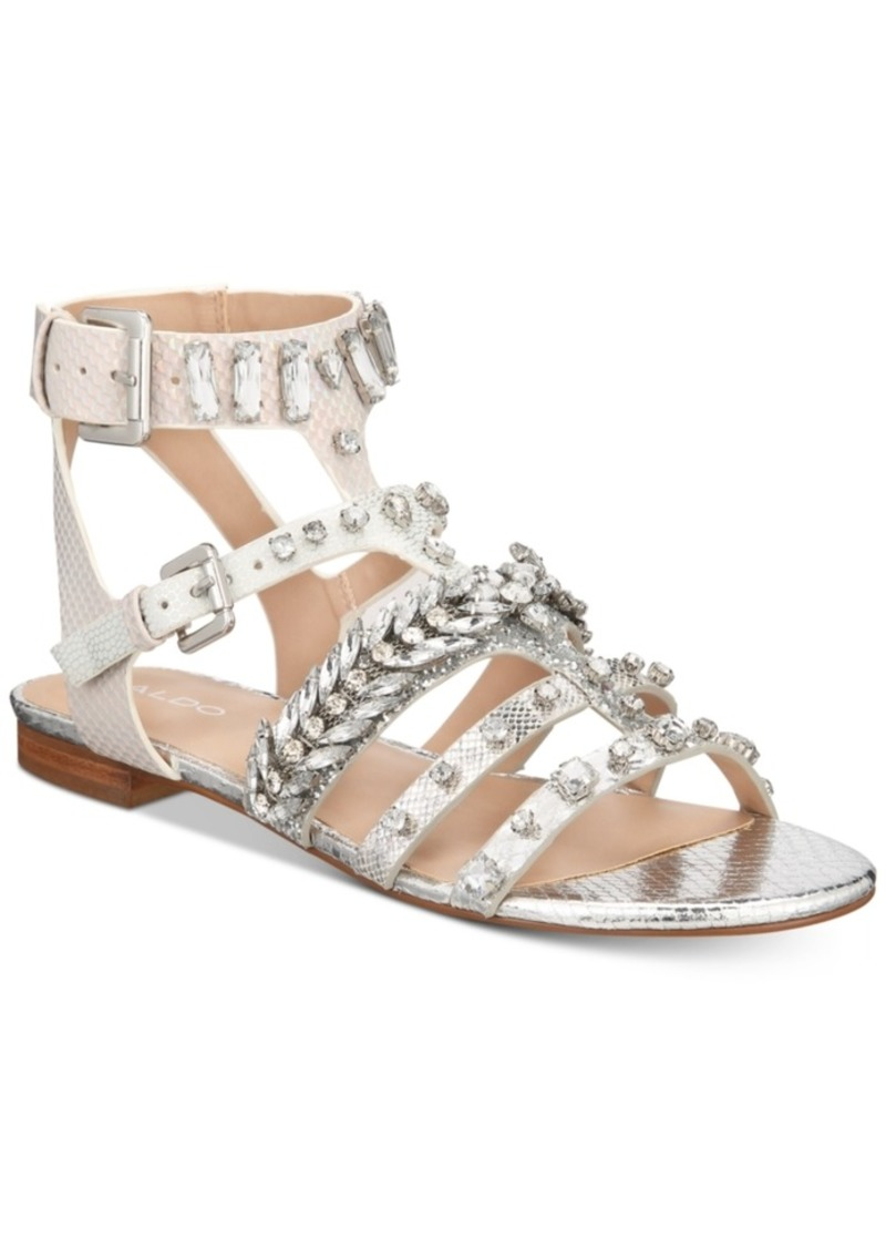 ec98b2c335fdd Aldo Aldo Brari Embellished Gladiator Sandals Women's Shoes | Shoes