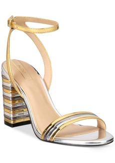 Aldo Izabela Block-Heel Two-Piece Sandals Women's Shoes