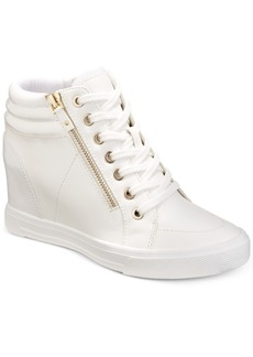 Aldo Kaia Lace-Up Wedge Sneakers Women's Shoes