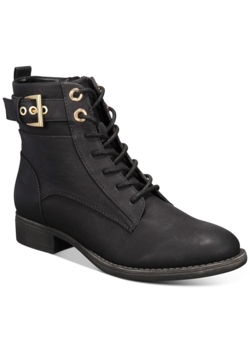 Aldo Lothiendra Combat Booties Women's Shoes