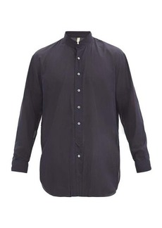 Aldo Maria Camillo Albini double-cuff silk shirt