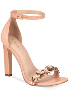 Aldo Mila Two-Piece Block-Heel Sandals Women's Shoes