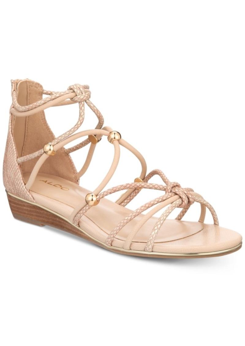 0a19f117b Aldo Aldo Muriele Gladiator Flat Sandals Women s Shoes