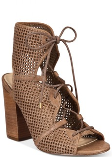 Aldo Women's Alicya Lace-Up Block-Heel Sandals Women's Shoes