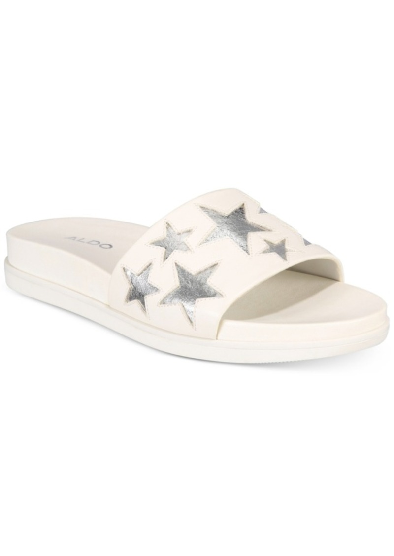 cc35ce8ebab6 SALE! Aldo Aldo Women s Estrellas Star Pool Slides Women s Shoes