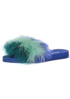 ALDO Women's Fluffy Slide Sandal   B US