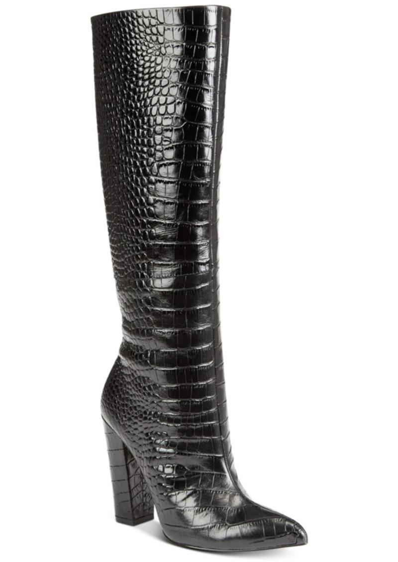 Aldo Women's Ibila Tall Leather Boots Women's Shoes