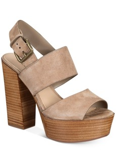 Aldo Women's Maximoa Platform Block-Heel Sandals Women's Shoes