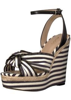 Aldo Women's Riliviel Wedge Sandal  7.5 B US