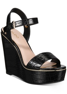 Aldo Women's Vivants Wedge Sandals Women's Shoes