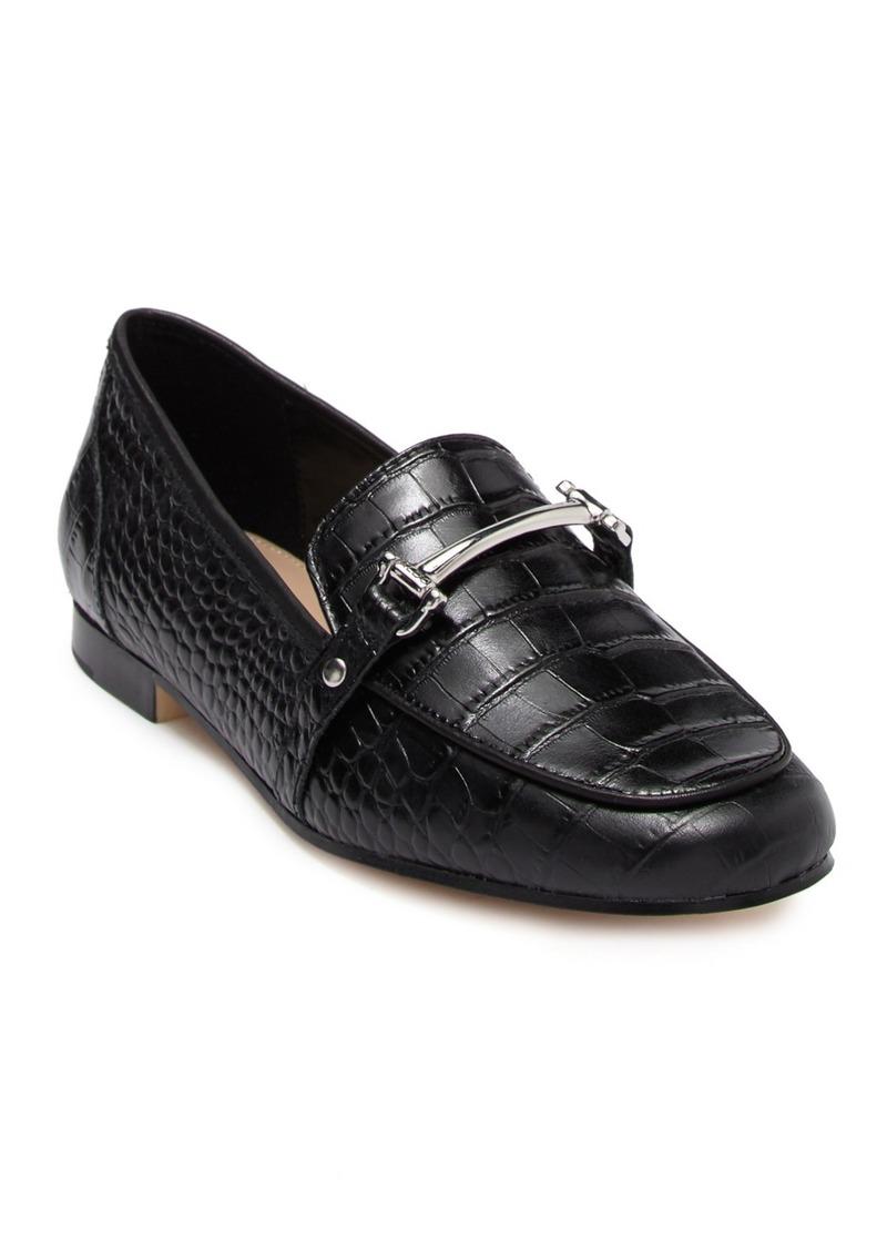 Aldo Astawia Croc Embossed Leather Bit Loafer