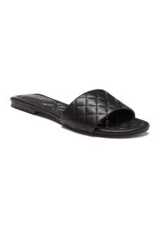 Aldo Ceryan Leather Slide Sandal