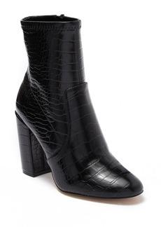 Aldo Haosien Croc Embossed Block Heel Ankle Boot