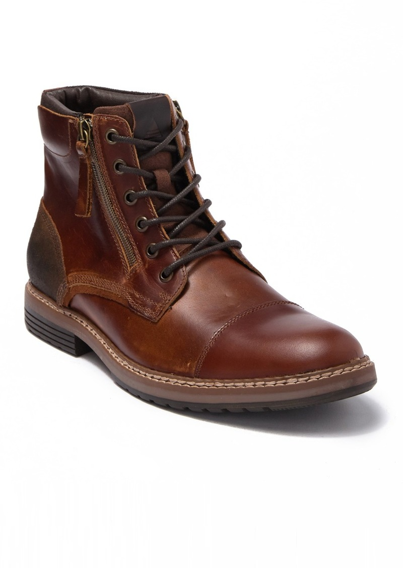Aldo Ibalilian Leather Cap Toe Boot