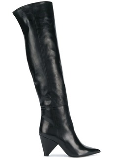 Aldo pointed over-the-knee boots