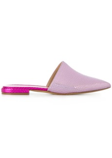 Aldo snakeskin slippers