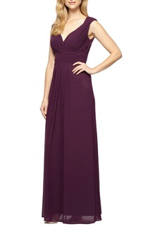 Alex Evenings A-Line Gown (Regular & Petite)