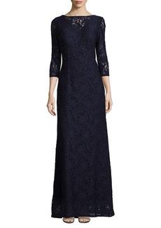 Alex Evenings A-Line Lace Gown