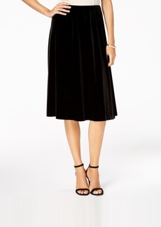 Alex Evenings A-Line Midi Skirt