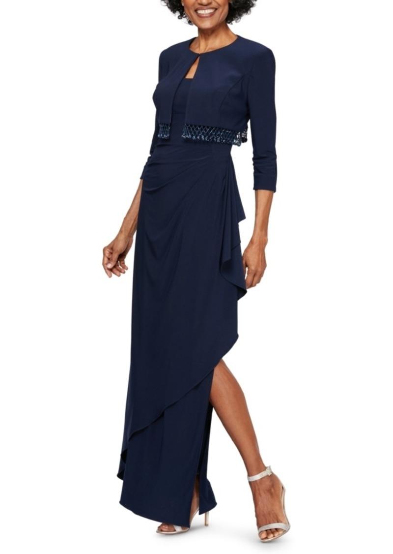 Alex Evenings Bolero Jacket & Gown