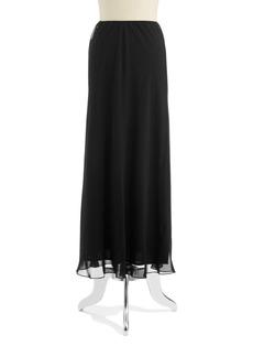 Alex Evenings Chiffon Maxi Skirt