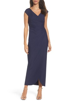 Alex Evenings Embellished Jersey Column Gown