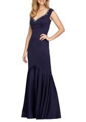 Alex Evenings Embellished Mermaid Gown
