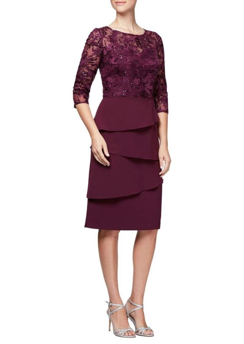 f2d0bff2d5 Alex Evenings Alex Evenings Embroidered Shift Dress | Dresses