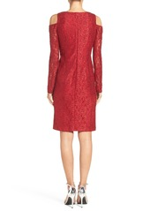 Alex Evenings Glitter Lace Dress
