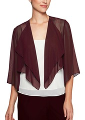 Alex Evenings Hanky Bolero Cardigan
