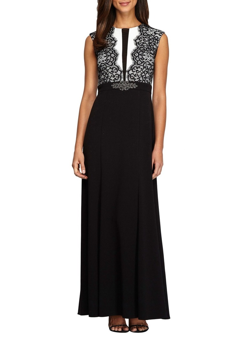 Alex Evenings Lace Gown
