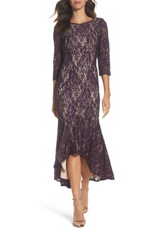 Alex Evenings Lace High/Low Gown