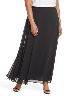 Alex Evenings Long Circle Skirt (Plus Size)