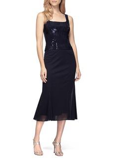 Alex Evenings Midi Dress & Jacket (Regular & Petite)