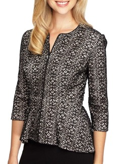 Alex Evenings Patterned Lace Dress Jacket