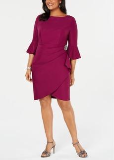 Alex Evenings Plus Size Embellished Sheath Dress