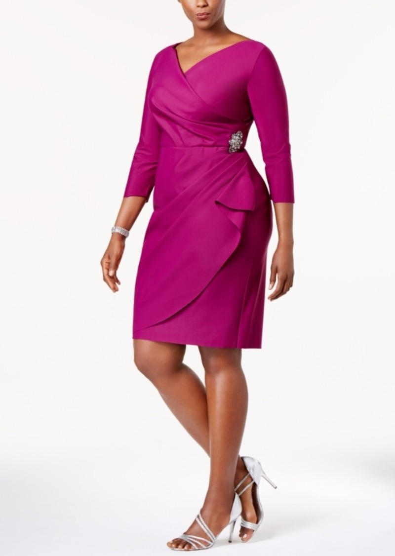 7d5a39fae71 Alex Evenings Alex Evenings Plus Size Embellished Sheath Dress