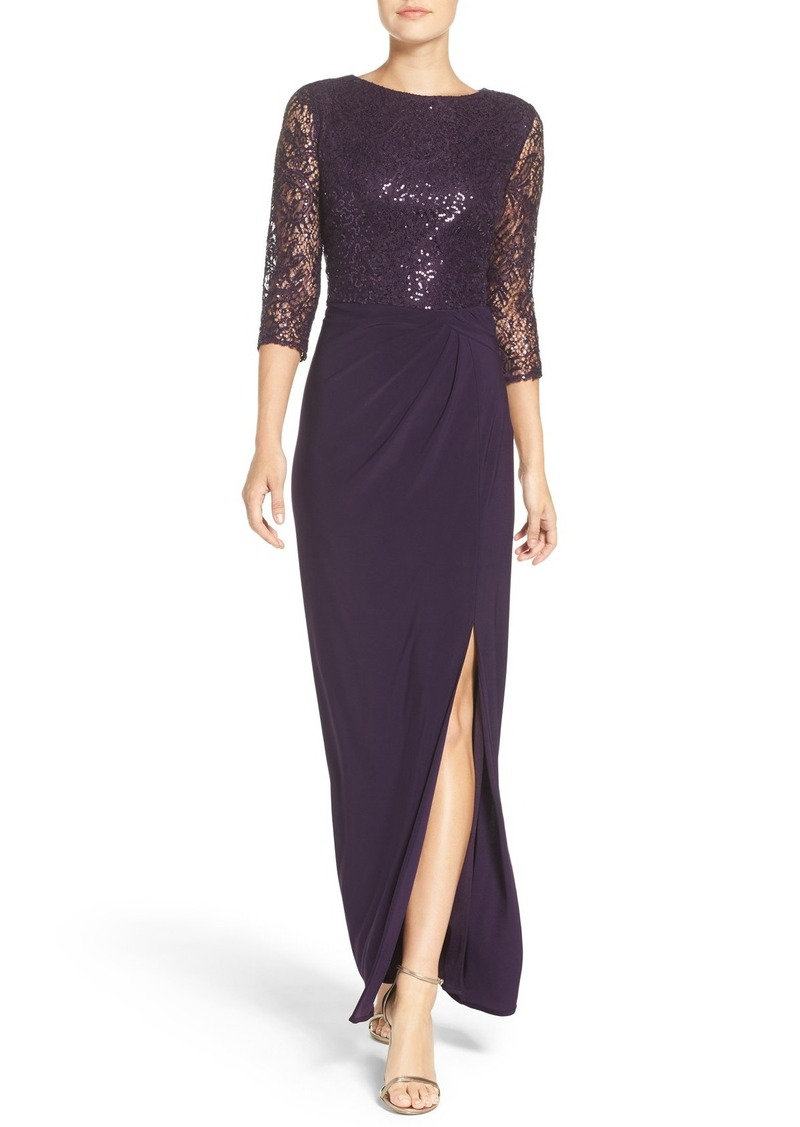 Alex Evenings Sequin Gown