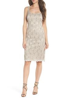 Alex Evenings Sequin Lace Dress with Bolero Jacket