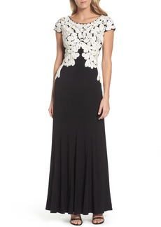 Alex Evenings Soutache Bodice Gown