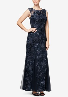 Alex Evenings Soutache Gown