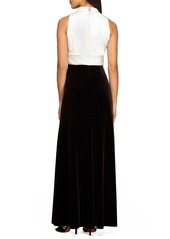Alex Evenings Stretch Fit & Flare Gown